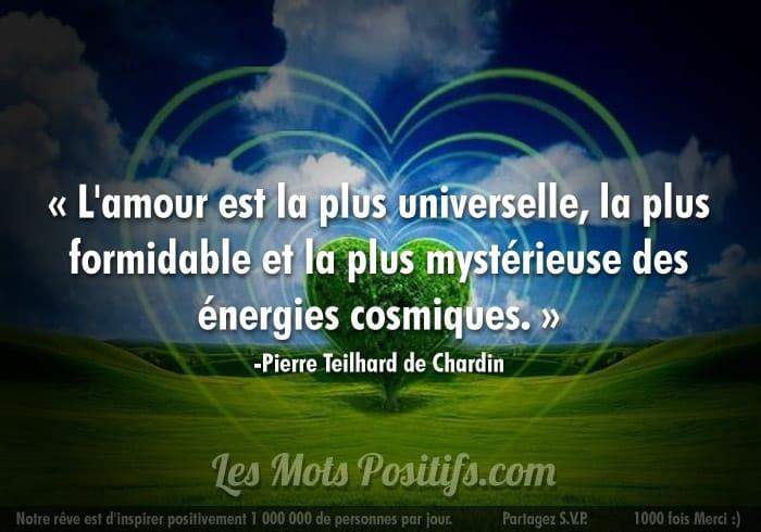 L'amour donne de l'énergie