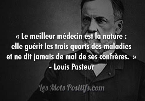 Citation La nature fait bien les choses