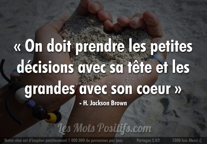 Citation de H. Jackson Brown