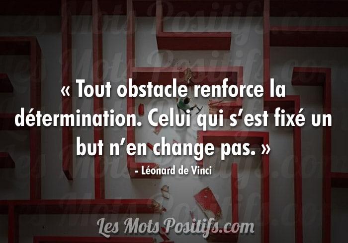 Vaincre les obstacles