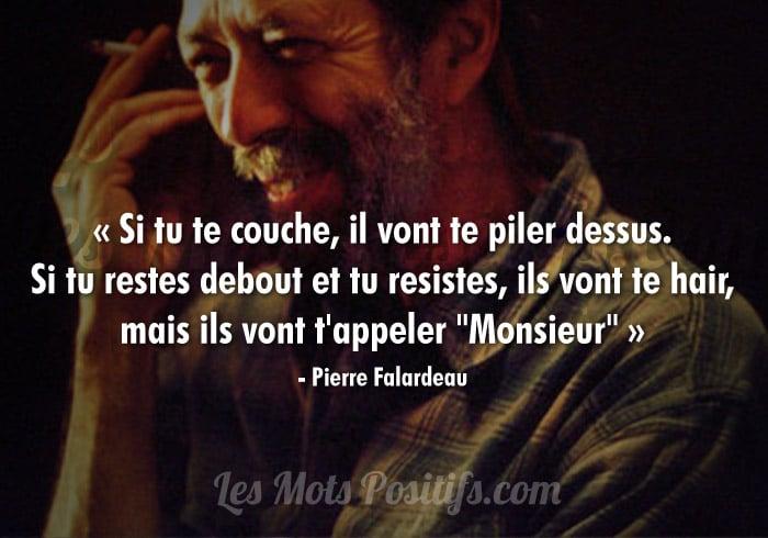Citation de Pierre Falardeau