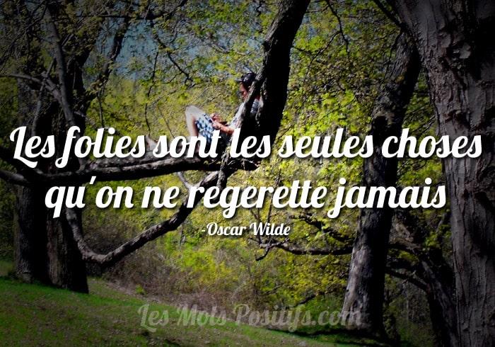 Citation Sans regret