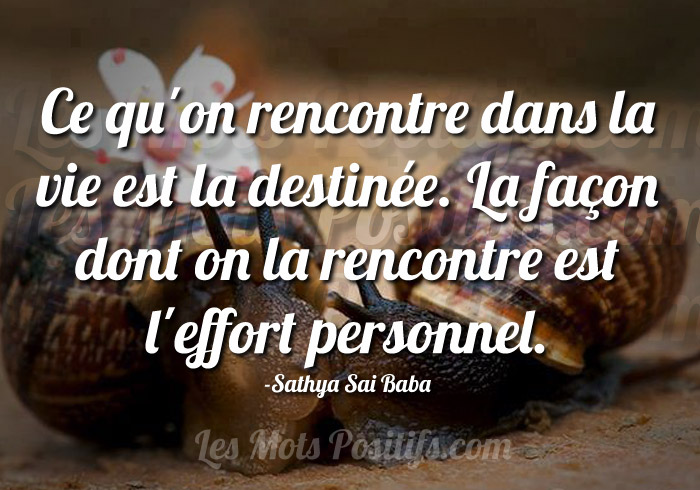 Rencontres citation