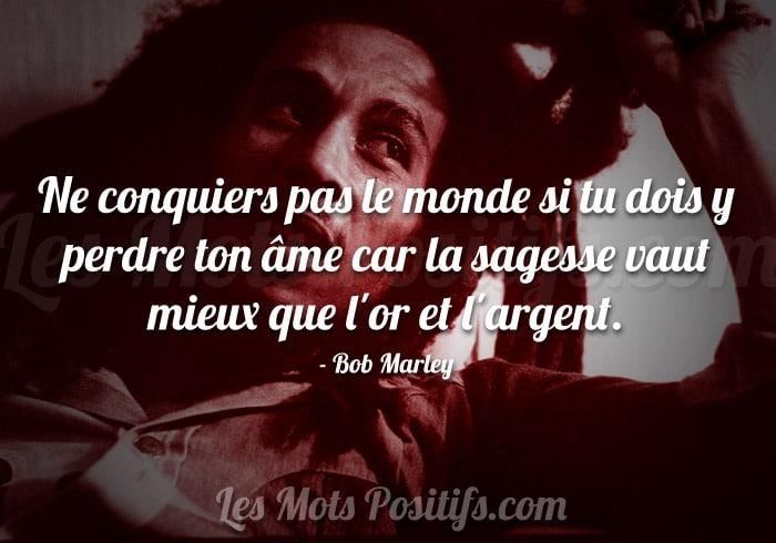 La sagesse selon Bob Marley