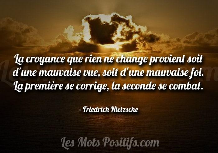Croire au changement