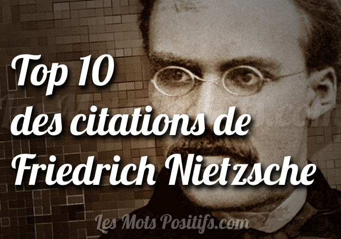 Citation Friedrich Nietzsche