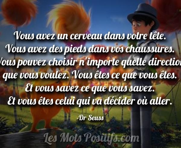 Citation Dr seuss Le Lorax  rien que des mots