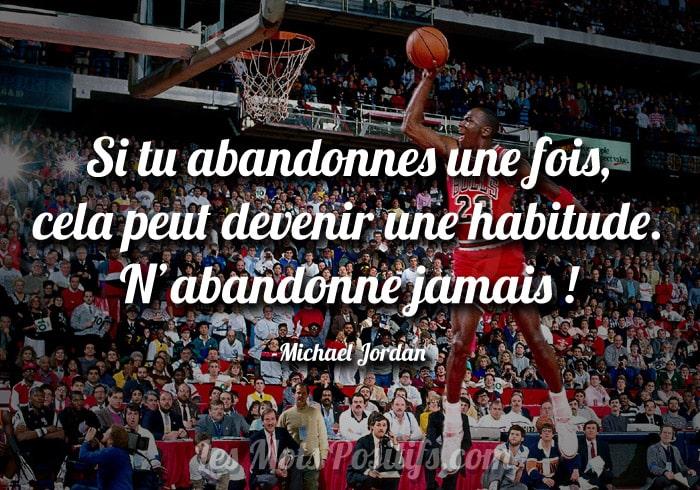 La persévérance selon Michael Jordan