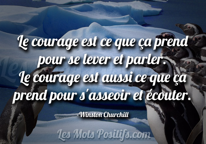 Le courage de la communication