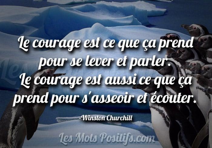 Citation Le courage de la communication