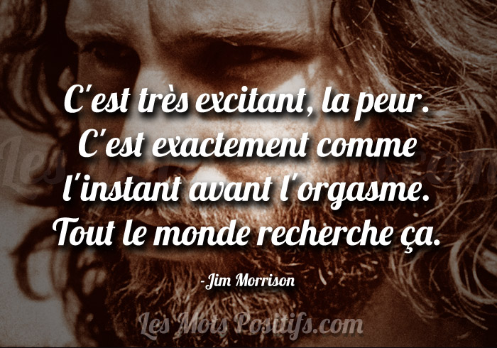Citation de Jim Morrison