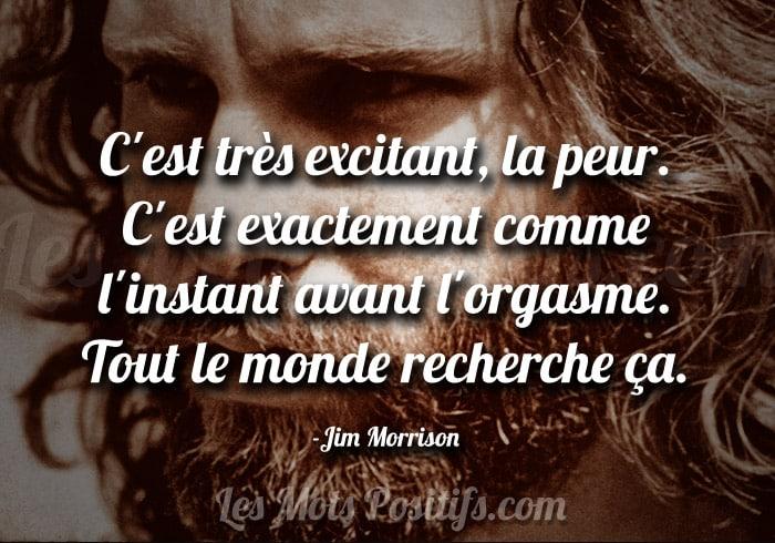 La peur selon Jim Morrison