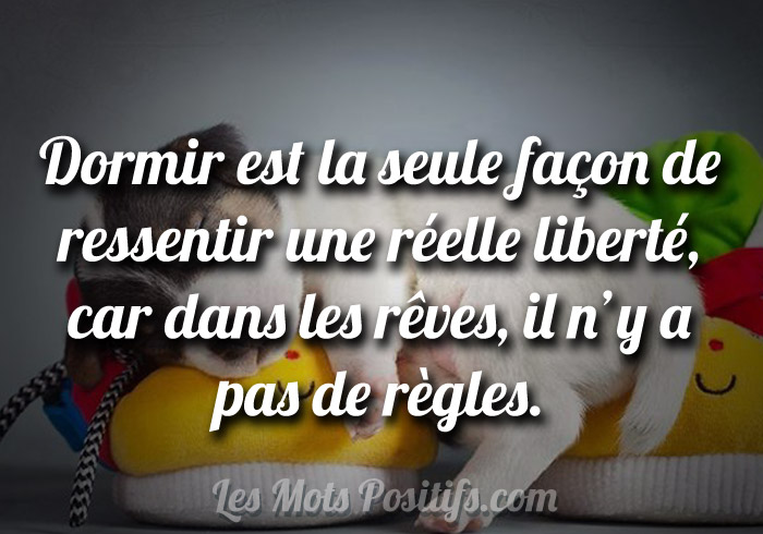 La vrai liberté