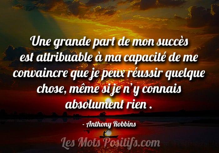 La réussite est un choix