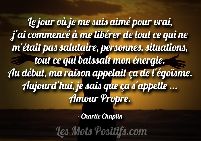 Citation L'amour propre