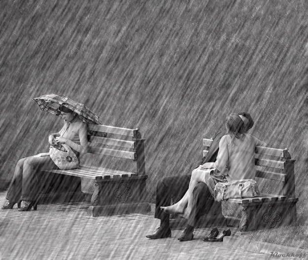 Danser sous la pluie…