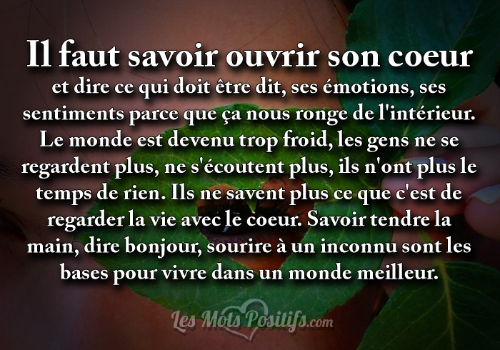la tendresse quotes