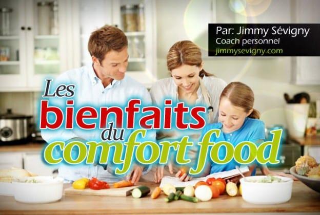 Les bienfaits du comfort food