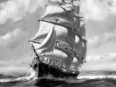 Tall Ship Painting