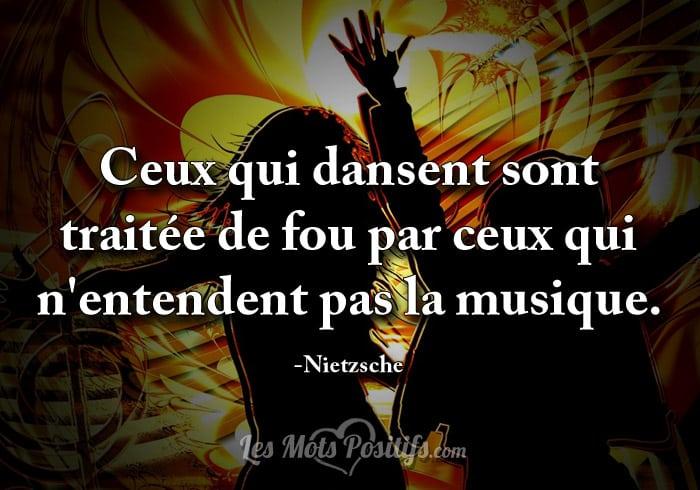 Citation Écoutez la musique de la vie