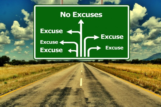 Arrêtez de vous trouver des excuses!