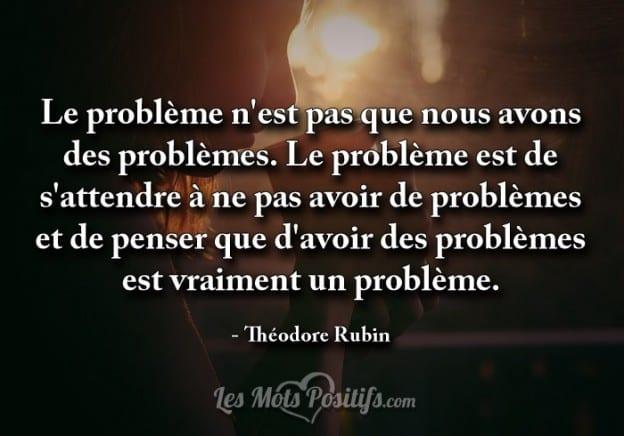 Est-ce vraiment un problème?