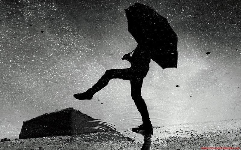 Citation Marcher sous la pluie… bonheur insoupçonné!