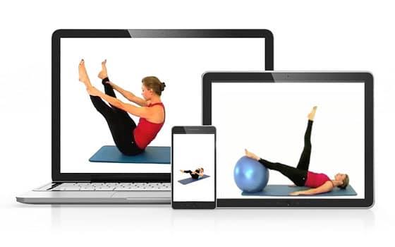 Cours de Pilates en ligne