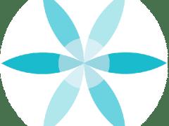 Logo sur cercle blanc