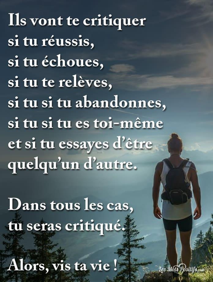 Citation Vis Ta Vie Lechemindemarie