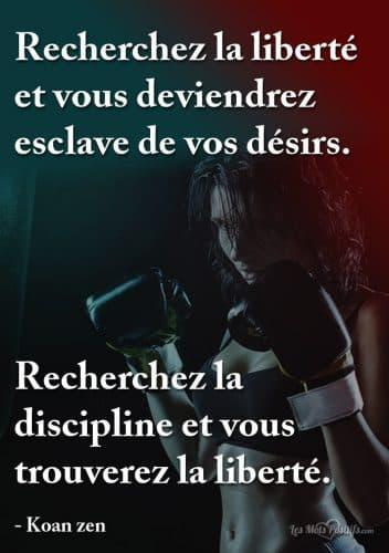 Recherchez la discipline