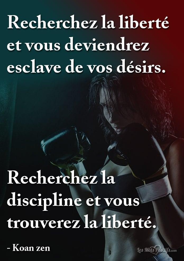 Citation Recherchez la discipline