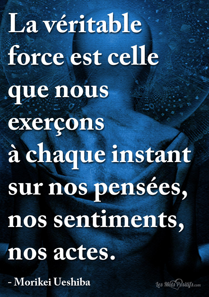 La Veritable Force Citations Et Pensees Positives Les Mots