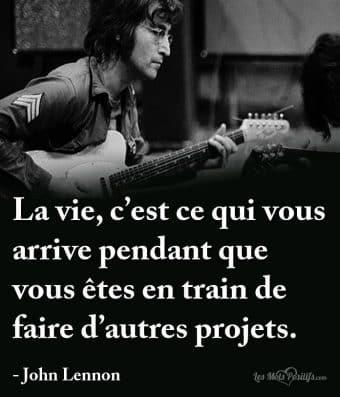 La vie selon John Lennon