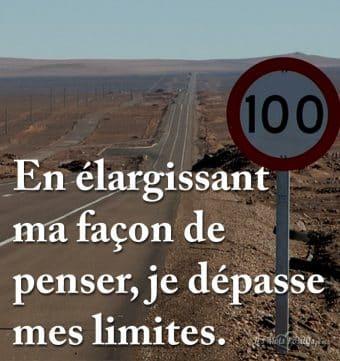 Dépasser ses limites