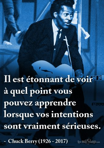 Citation hommage à Chuck Berry (1926 – 2017)