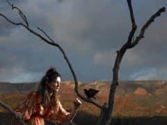 femme oiseau