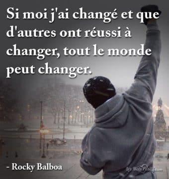 Tout le monde peut changer