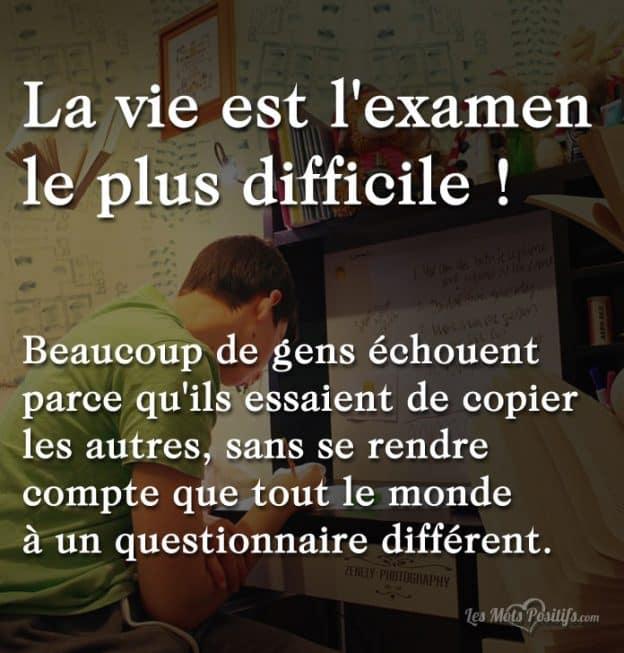 Citation Sur La Vie Difficile