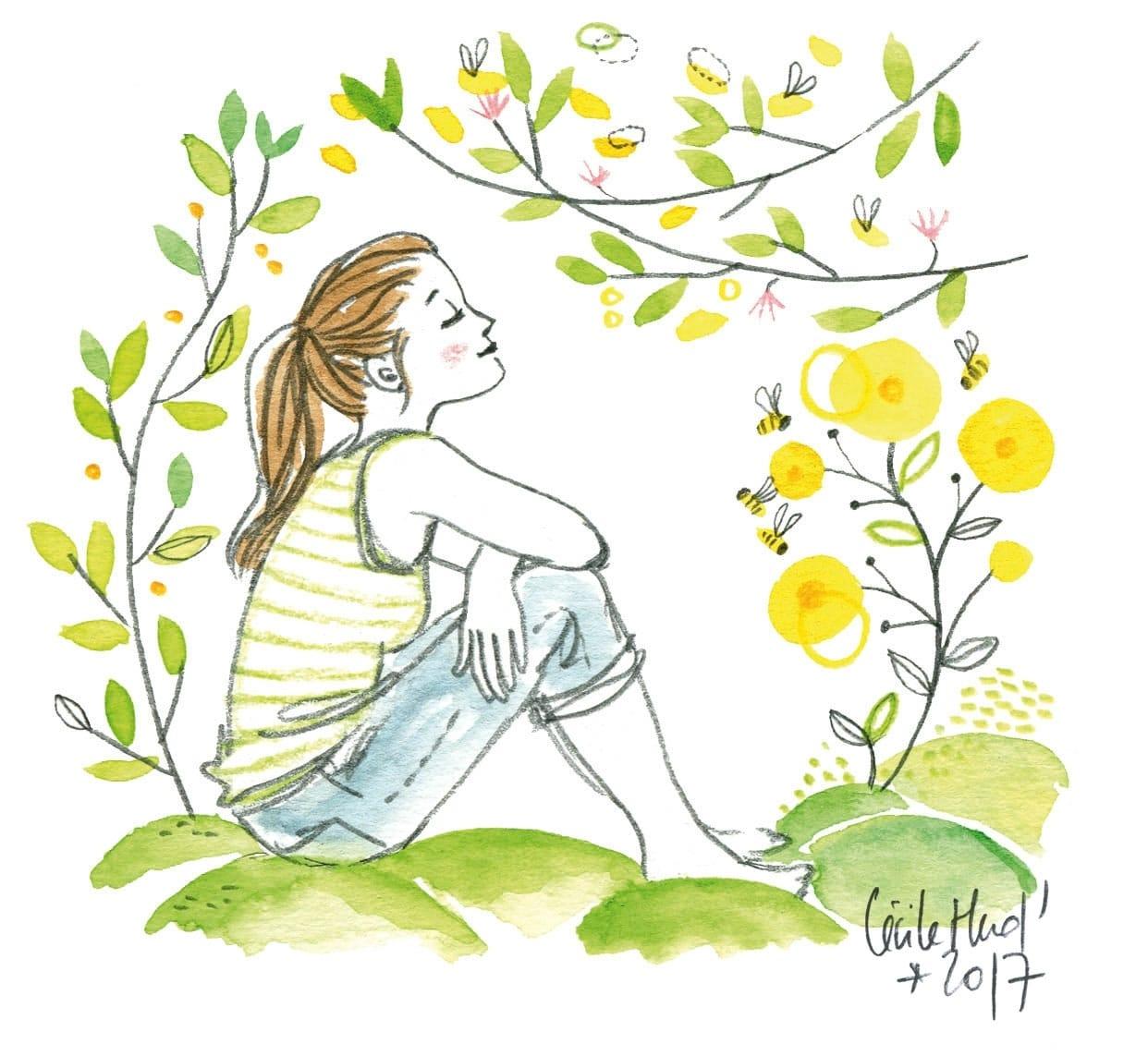Citation Mon jardin