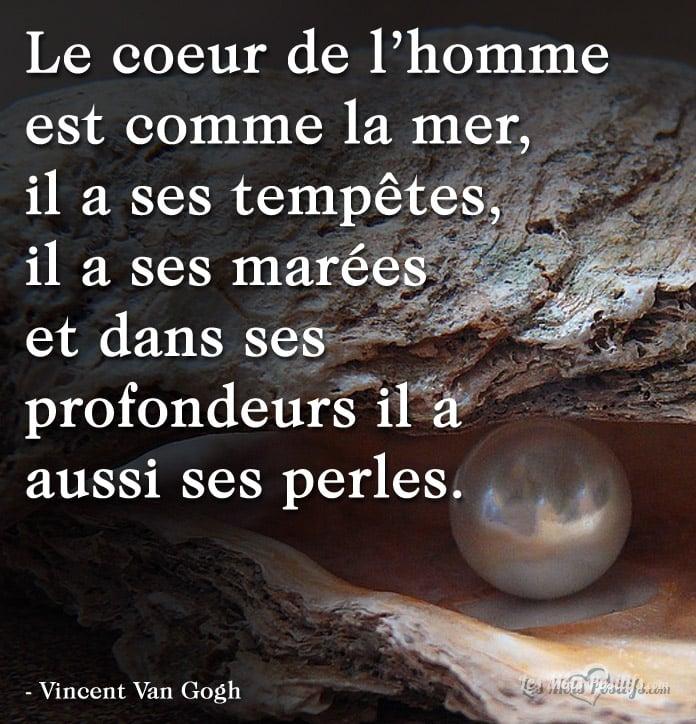 Le Coeur De L Homme Est Comme La Mer Citations Et Pensees