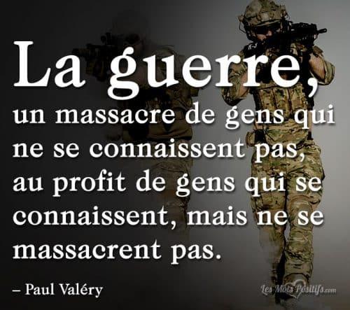 La vérité sur la guerre