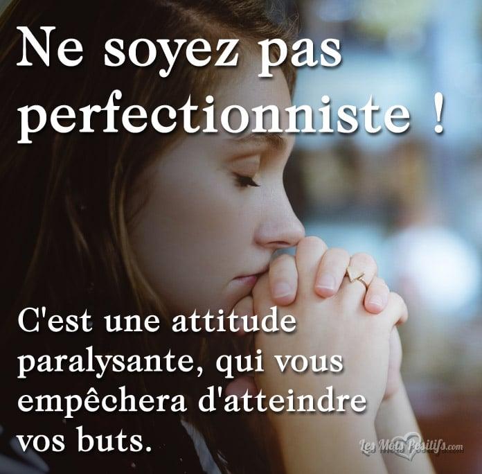 Citation Êtes-vous perfectionniste ?