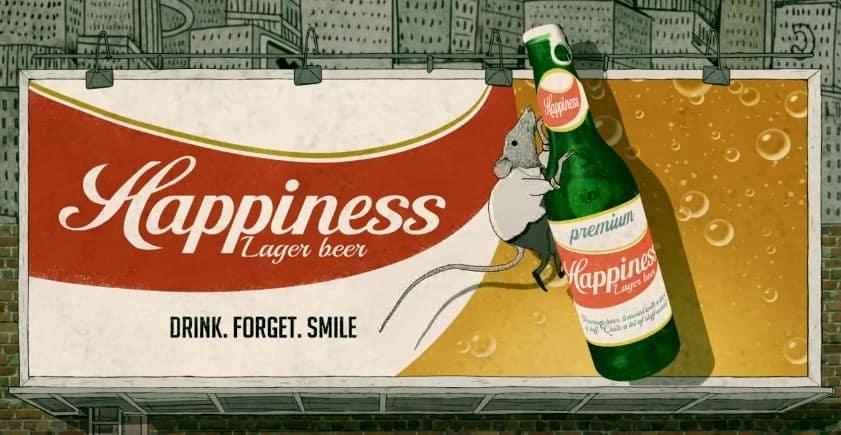 Citation Happiness ! Cette nouvelle animation de Steve Cutts vous ouvrira les yeux !