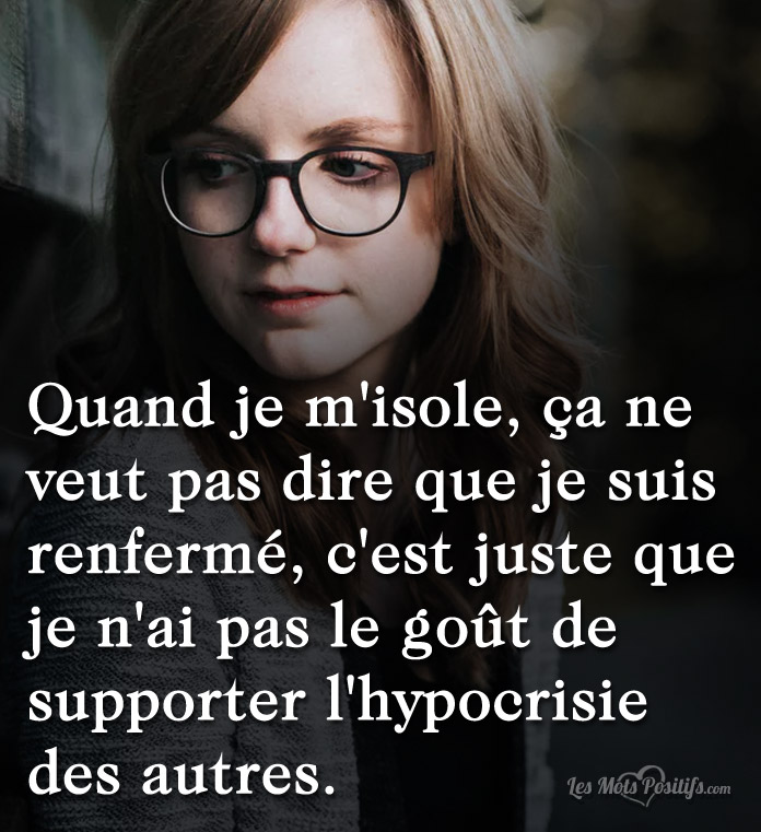 Citation Supporter l'hypocrisie des autres