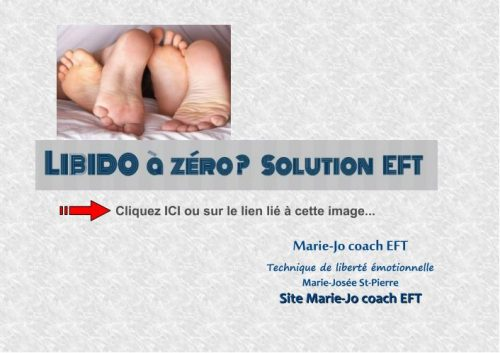 Libido à zéro / Solution EFT
