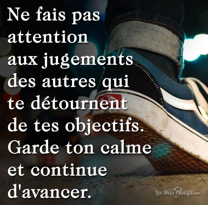 Garde Ton Calme Et Continue D Avancer Citations Et Pensees Positives Les Mots Positifs Com