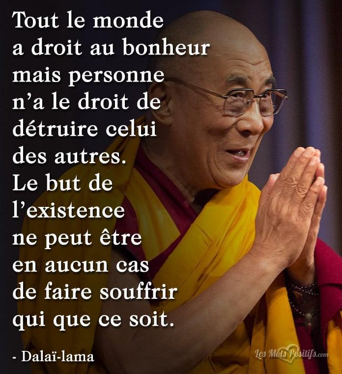 Personne N A Le Droit De Detruire Le Bonheur Des Autres
