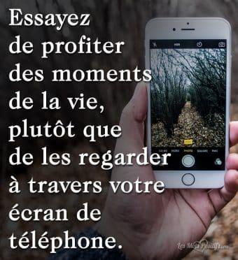 Passez-vous trop de temps sur votre téléphone ?