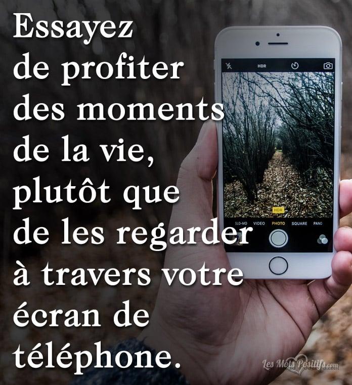 Citation Passez-vous trop de temps sur votre téléphone ?